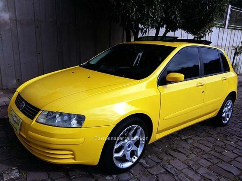 stilo 1.8 mpi schumacher 16v gasolina 4p manual 2007 caxias do sul
