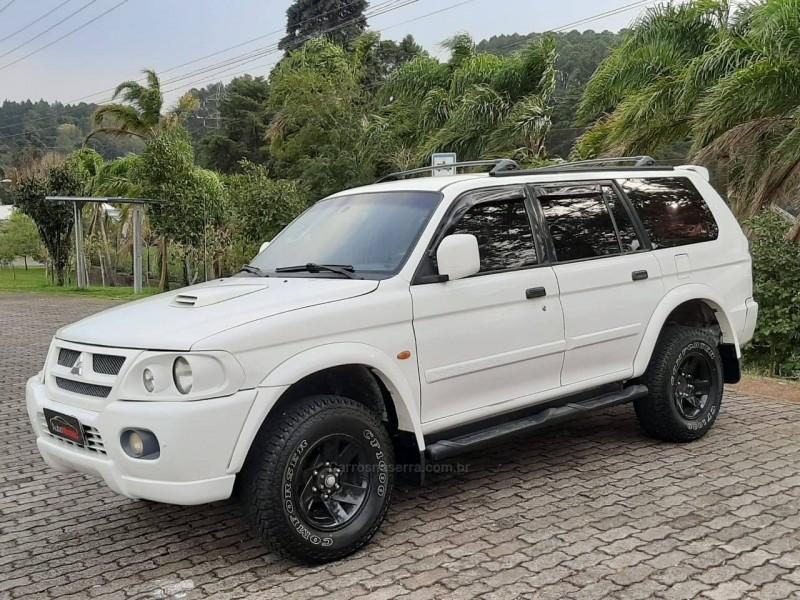 pajero sport 2.8 hpe 4x4 8v turbo intercooler diesel 4p automatico 2004 caxias do sul