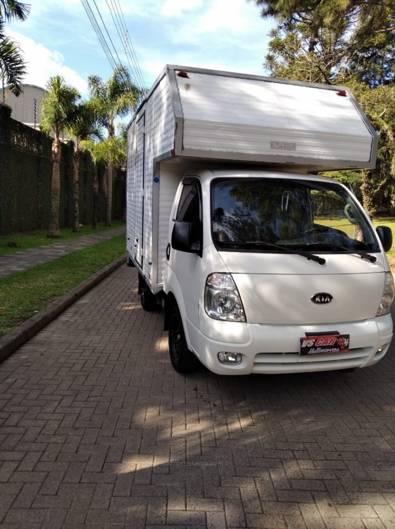 bongo 2.5 k 2500 4x2 cs turbo diesel 2p manual 2008 caxias do sul