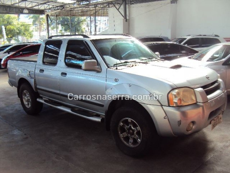 frontier 2.8 se 4x2 cd turbo eletronic diesel 4p manual 2007 caxias do sul