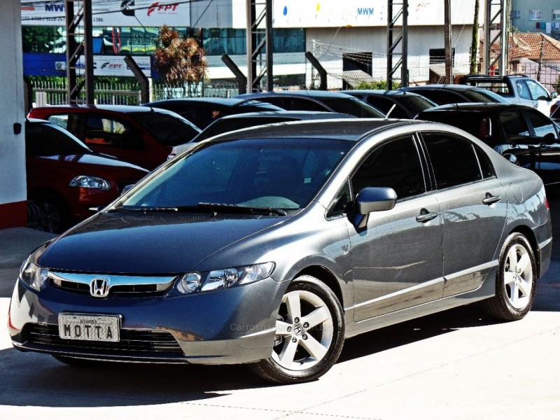 civic 1.8 lxs 16v gasolina 4p automatico 2007 caxias do sul