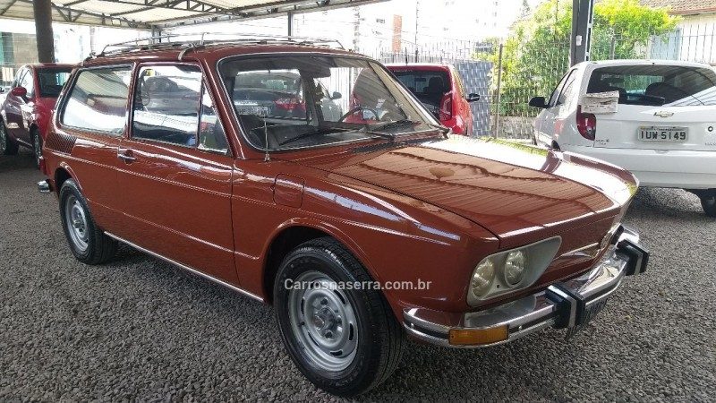 BRASILIA 1.6 8V GASOLINA 2P MANUAL - 1975 - CAXIAS DO SUL
