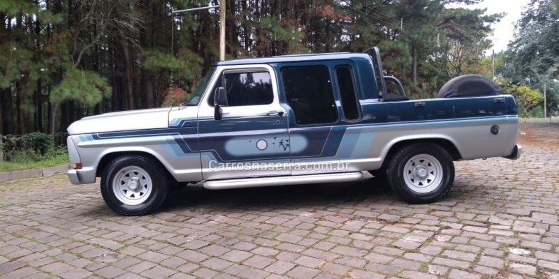 f 1000 diesel 2p manual 1989 nova prata