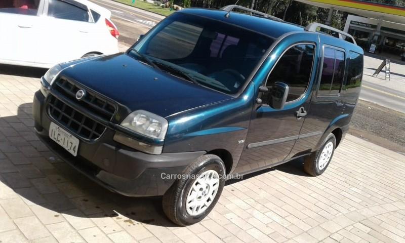 doblo 1.8 mpi elx 8v gasolina 4p manual 2003 nova petropolis