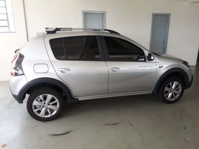 sandero 1.6 stepway 8v flex 4p manual 2014 bento goncalves