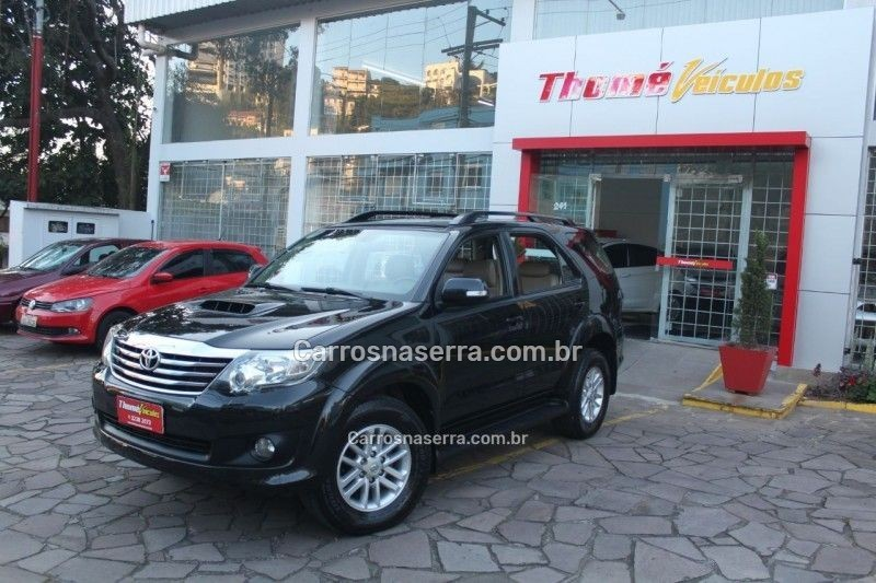 hilux sw4 3.0 srv 4x4 7 lugares 16v turbo intercooler diesel 4p automatico 2012 caxias do sul
