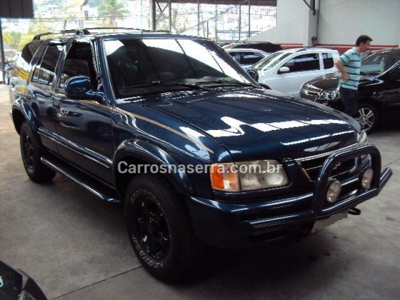 blazer 4.3 sfi dlx 4x4 v6 12v gasolina 4p manual 1998 caxias do sul
