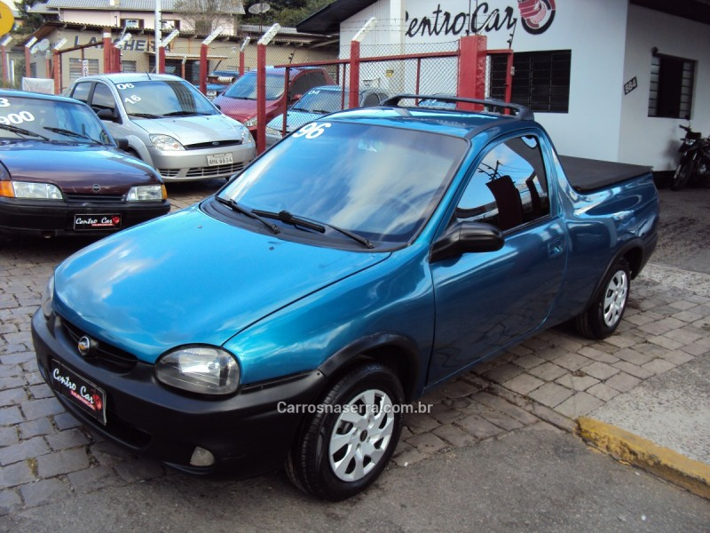 corsa 1.6 mpfi gl 8v gasolina 2p manual 1996 caxias do sul