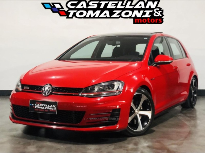 golf 2.0 gti highline 16v gasolina 4p automatico 2015 caxias do sul