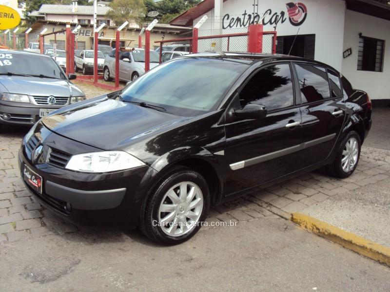 megane 2.0 dynamique sedan 16v gasolina 4p automatico 2009 caxias do sul