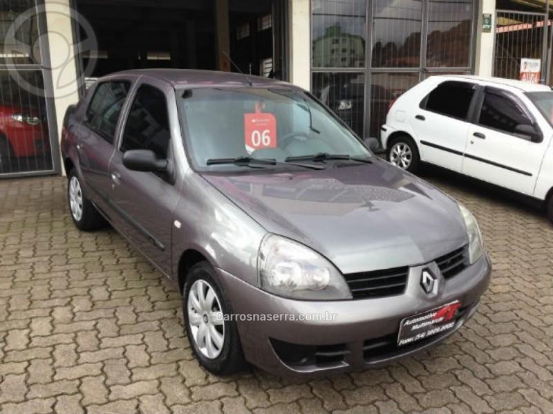 clio 1.0 authentique sedan 16v gasolina 4p manual 2006 caxias do sul