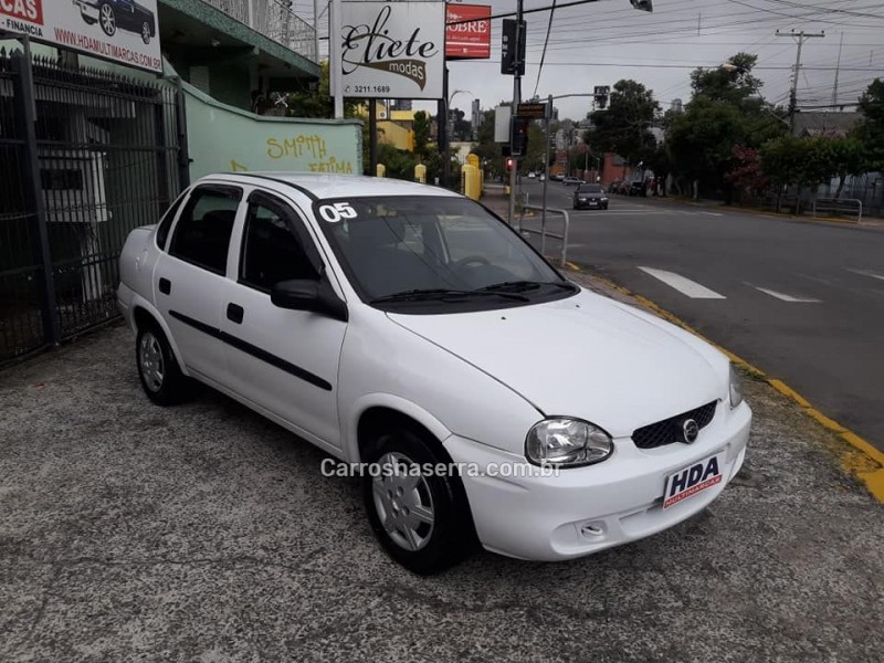 corsa 1.6 mpfi classic sedan 8v gasolina 4p manual 2005 caxias do sul