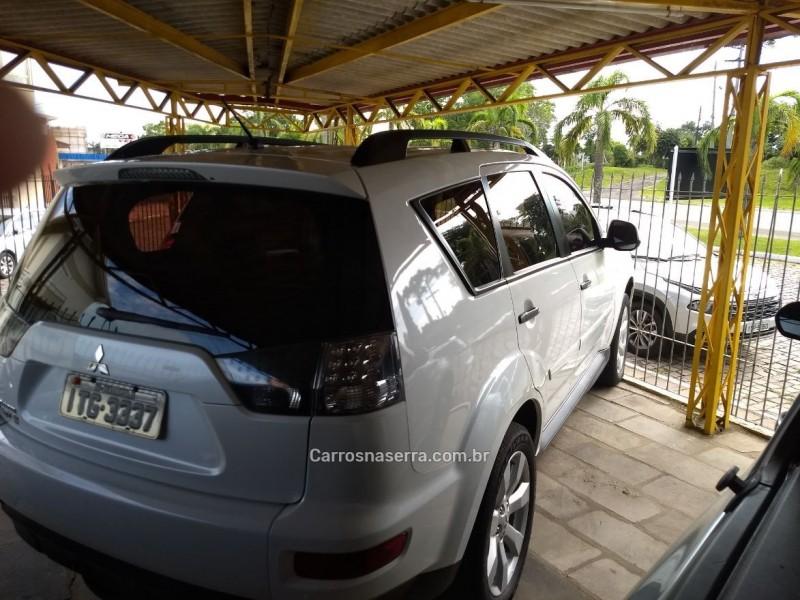 outlander 2.0 16v gasolina 4p automatico 2012 veranopolis