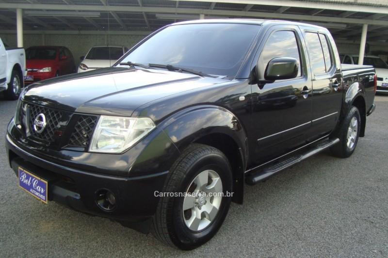 frontier 2.5 xe 4x4 cd turbo eletronic diesel 4p manual 2010 caxias do sul