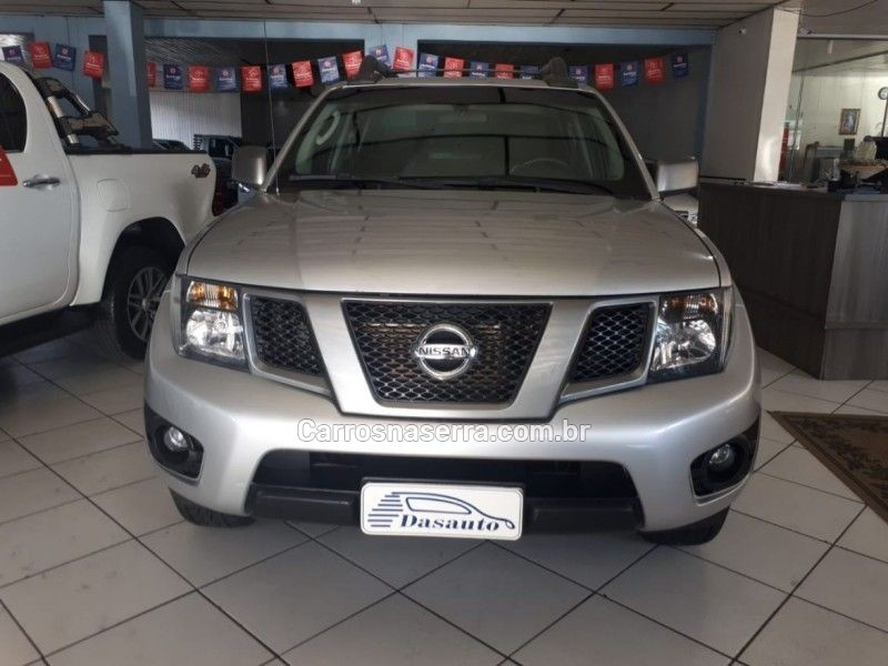 frontier 2.5 sv attack 4x4 cd turbo eletronic diesel 4p manual 2013 caxias do sul