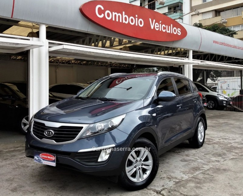 sportage 2.0 lx 4x2 16v gasolina 4p automatico 2011 caxias do sul