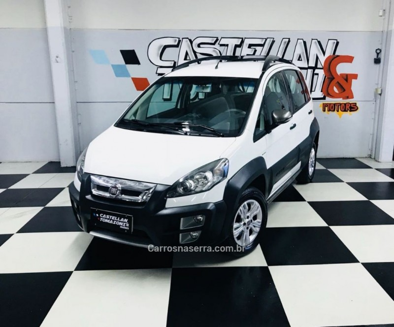 idea 1.8 mpi adventure 8v flex 4p automatizado 2013 caxias do sul