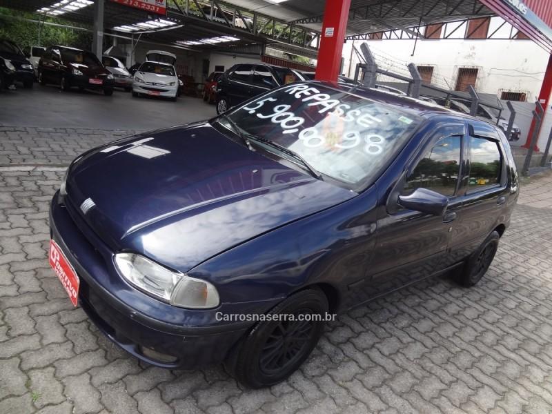 palio 1.0 mpi ex 8v gasolina 4p manual 1998 caxias do sul