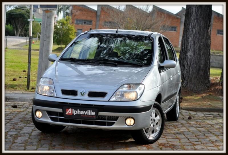 scenic 2.0 privilege 16v gasolina 4p manual 2008 caxias do sul