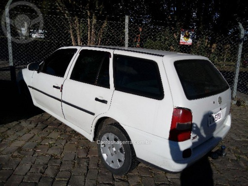 parati 1.6 mi city 8v gasolina 4p manual g.iii 1999 caxias do sul