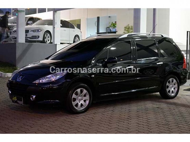 307 2.0 allure sw 16v gasolina 4p automatico 2008 caxias do sul