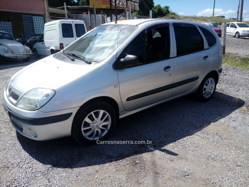 scenic 1.6 authentique 16v flex 4p manual 2008 caxias do sul