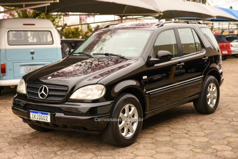 ml 430 4.3 4x4 v8 gasolina 4p automatico 2001 bento goncalves