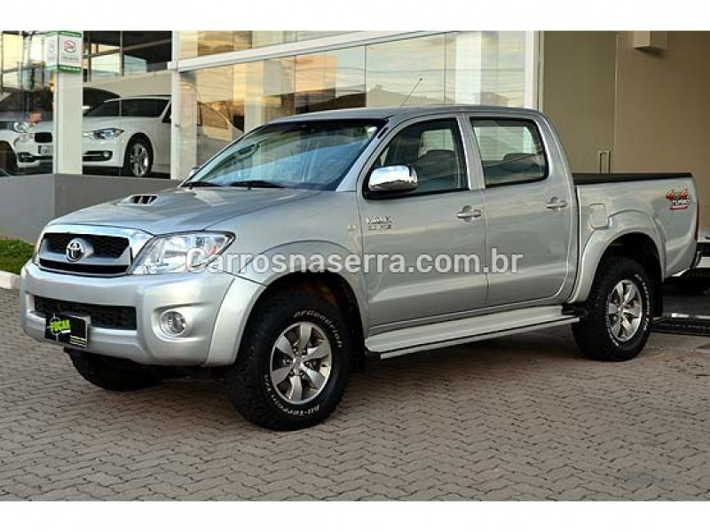 hilux 3.0 srv 4x4 cd 16v turbo intercooler diesel 4p automatico 2011 caxias do sul