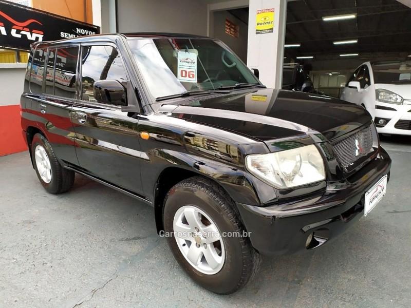 pajero tr4 2.0 4x4 16v 131cv gasolina 4p manual 2006 caxias do sul