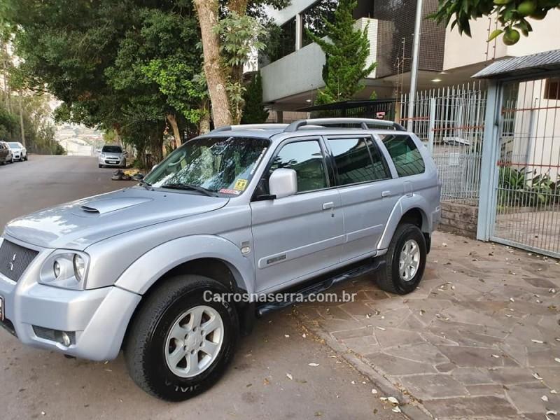 pajero sport 2.5 hpe 4x4 8v turbo intercooler diesel 4p automatico 2009 caxias do sul
