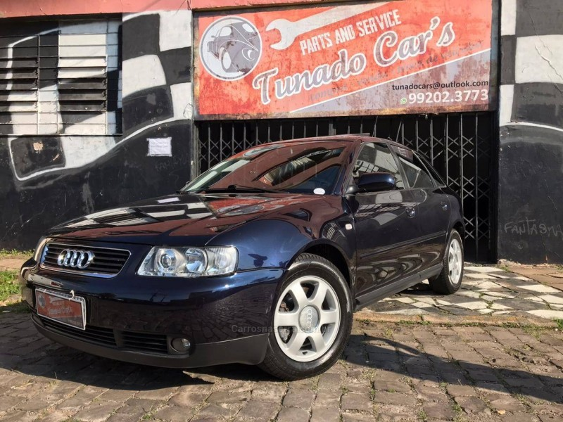 a3 1.8 20v 150cv turbo gasolina 4p manual 2001 caxias do sul