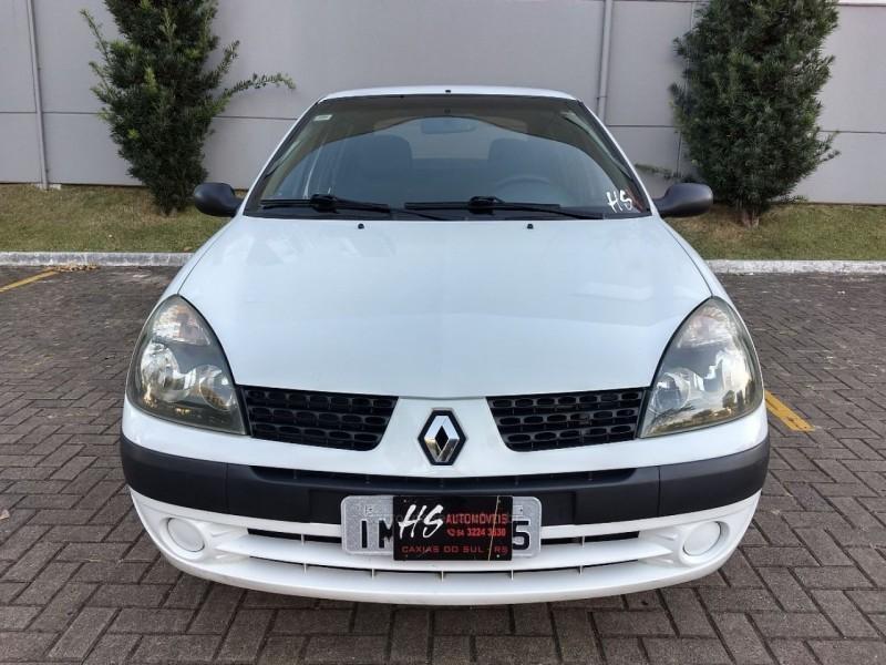 clio 1.0 authentique sedan 16v flex 4p manual 2005 caxias do sul