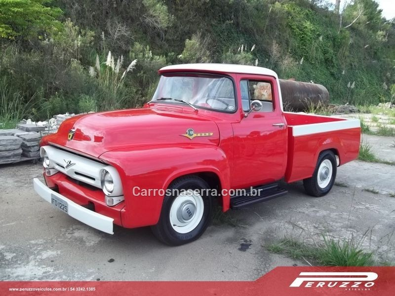 f 100 4.5 8 cilindros 16v gasolina 2p manual 1960 nova prata
