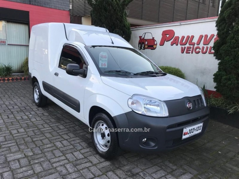 fiorino 1.4 mpi furgao 8v flex 2p manual 2016 caxias do sul