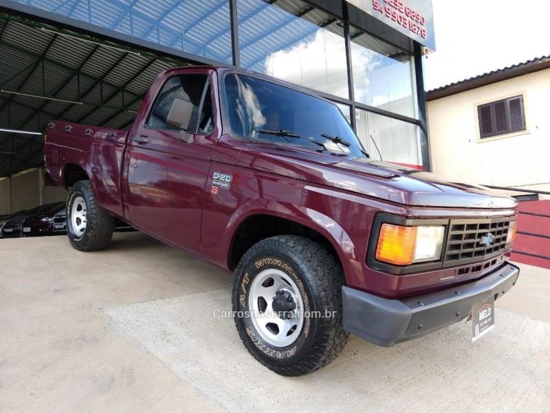 d20 4.0 custom s cs 8v diesel 2p manual 1992 vacaria