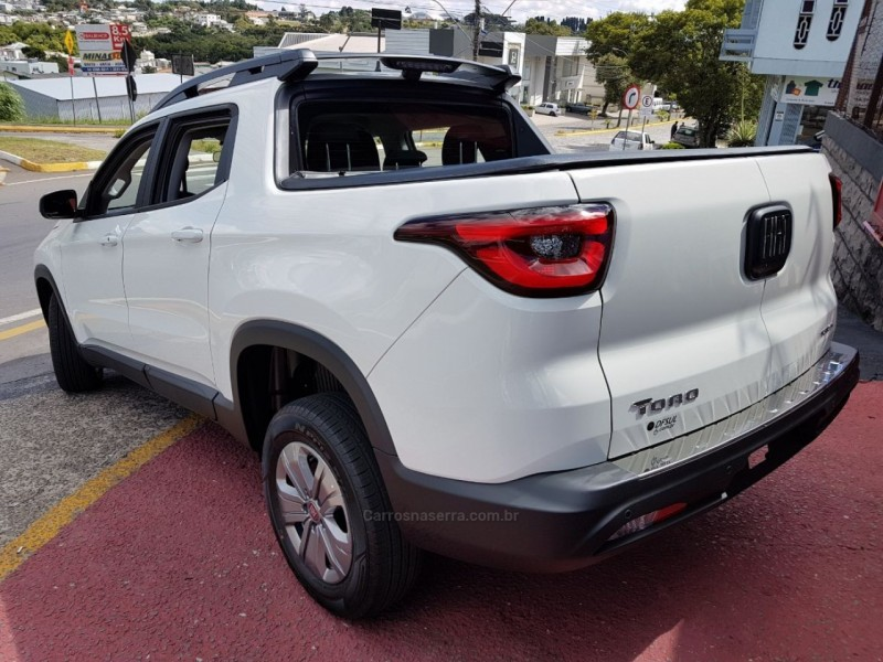 TORO 1.8 16V EVO FLEX FREEDOM AUTOMÁTICO - 2020 - FARROUPILHA