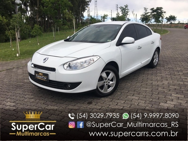 fluence 2.0 dynamique 16v flex 4p manual 2013 caxias do sul