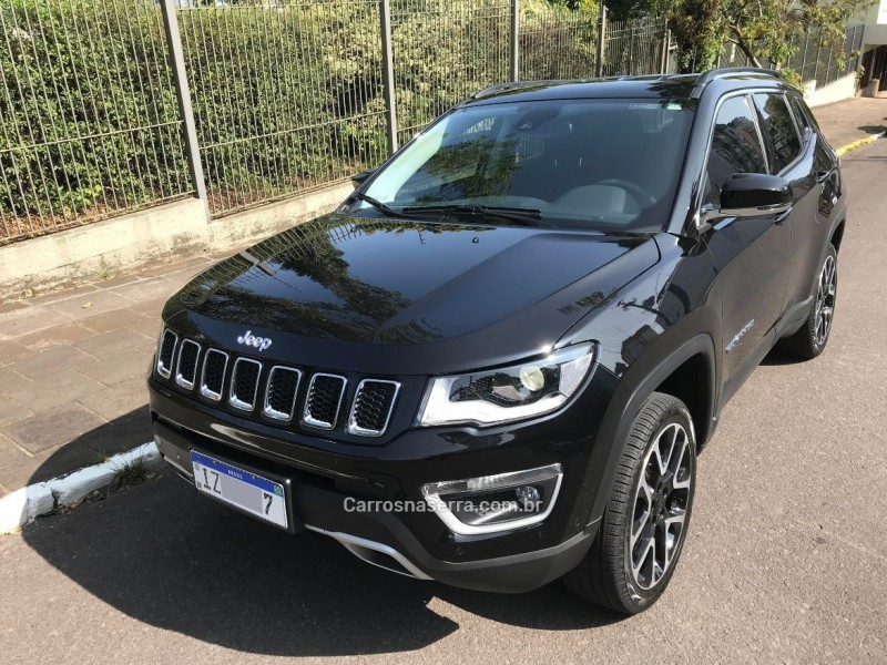 compass 2.0 16v diesel limited 4x4 automatico 2019 farroupilha