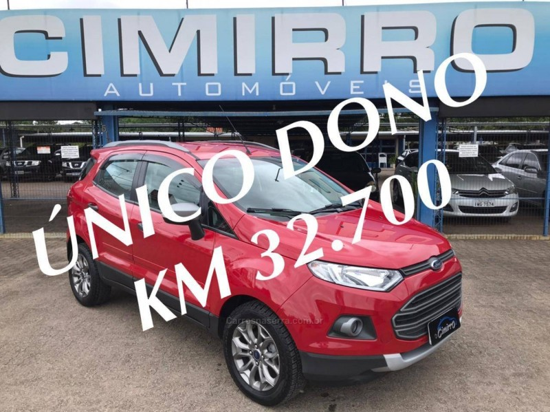 ecosport 1.6 freestyle 16v flex 4p manual 2017 igrejinha