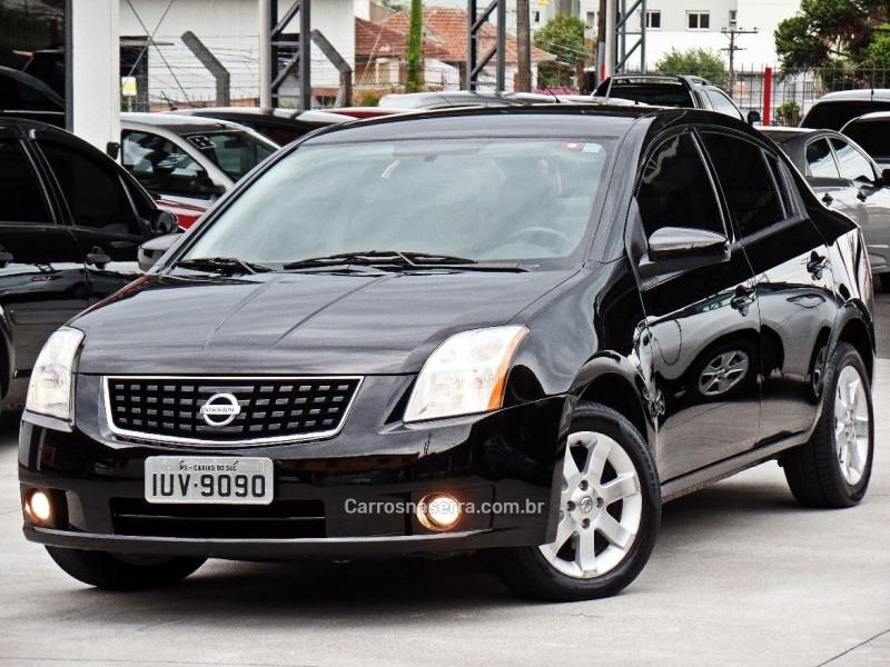 sentra 2.0 s 16v gasolina 4p automatico 2009 caxias do sul