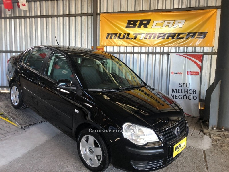 polo sedan 1.6 mi 8v flex 4p manual 2009 caxias do sul