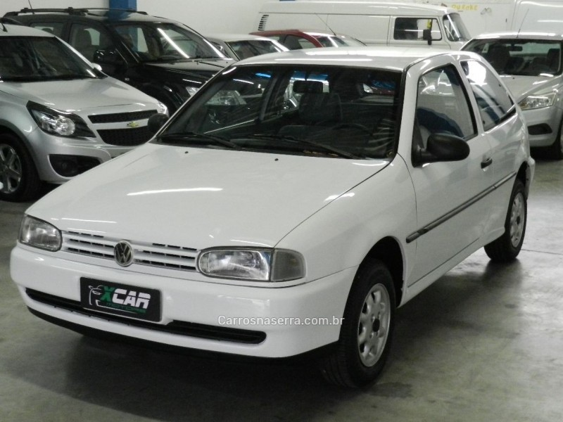 gol 1.6 cli 8v gasolina 2p manual 1996 bento goncalves