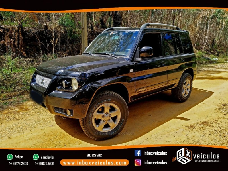 pajero tr4 2.0 4x4 16v flex 4p manual 2008 gramado