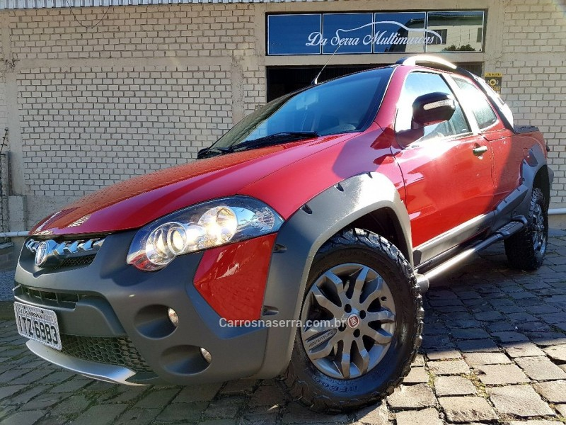 strada 1.8 mpi adventure locker e.torq cd 16v flex 2p manual 2013 farroupilha