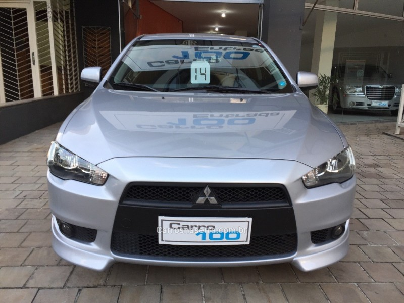 lancer 2.0 16v gasolina 4p automatico 2014 caxias do sul