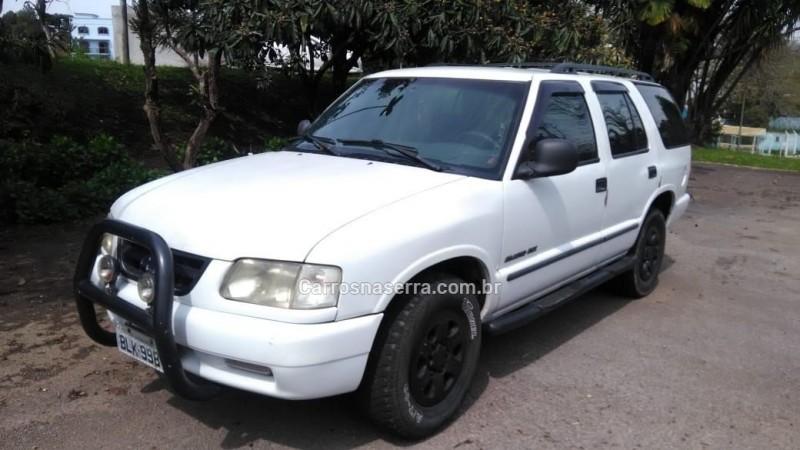 blazer 2.2 efi dlx 4x2 8v gasolina 4p manual 1996 farroupilha