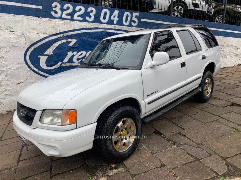 blazer 2.2 mpfi dlx 4x2 8v gasolina 4p manual 1996 caxias do sul
