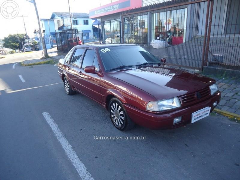 santana 2.0 gl 8v gasolina 4p manual 1996 caxias do sul