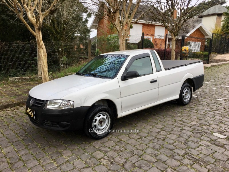 saveiro 1.6 mi city cs 8v flex 2p manual g.iv 2009 canela
