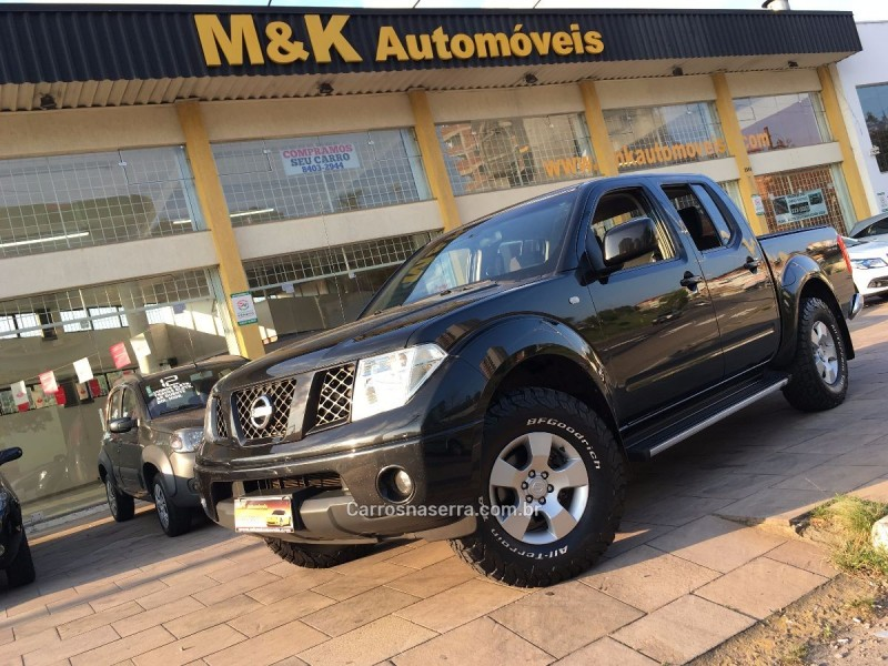 frontier 2.5 se 4x4 cd turbo eletronic diesel 4p manual 2013 caxias do sul
